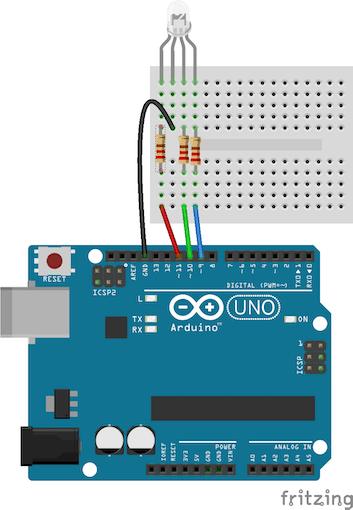 Wondrous Arduino Rgb Led Tutorial Arduino Project Hub Wiring 101 Jonihateforg