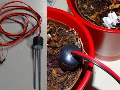 Arduino Capacitive Soil Moisture Sensor (DIY) with ESP32 - Hackster io