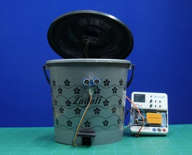 Automatic Trash Can Using Arduino Based Embedded Platform
