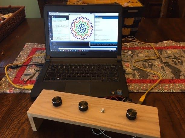 Rotational Symmetry Drawing