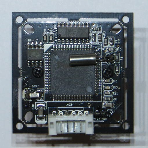 Figure 6. Camera (Bot) with driver RS-232 (MAX3232).