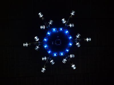 Arduinoflake on PCB!
