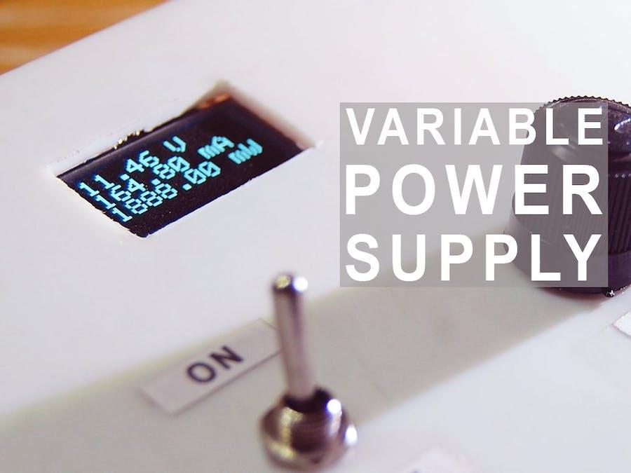Variable Power Supply (Buck Converter)