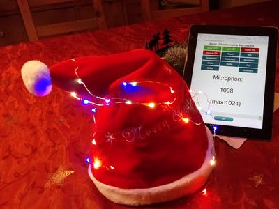 Interactive WiFi-Controlled Dancing Christmas Hat