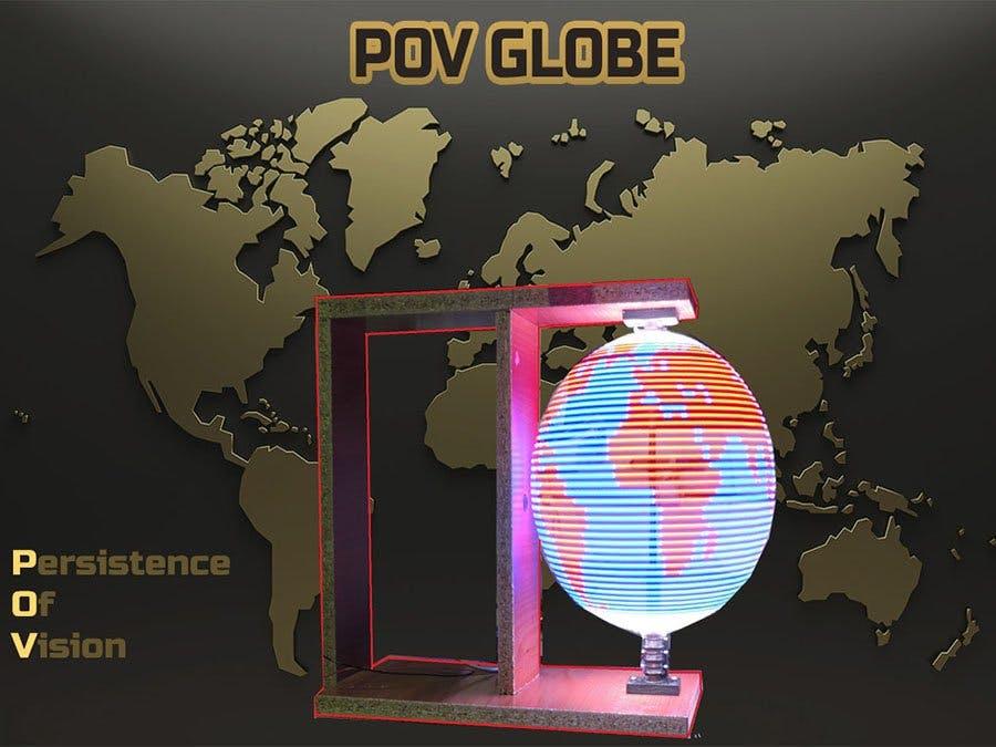 Persistence of Vision (POV) Globe