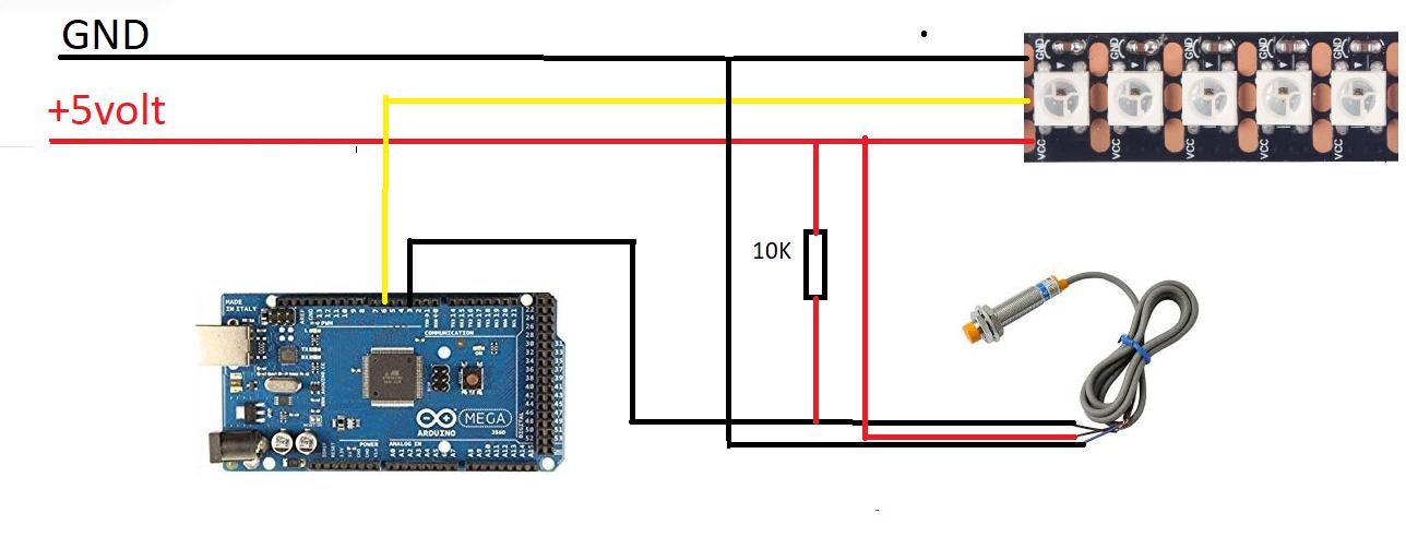 Pov arduino circuit lkdtnjsjn8