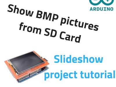Display BMP Pictures from SD Card on TFT LCD Shield