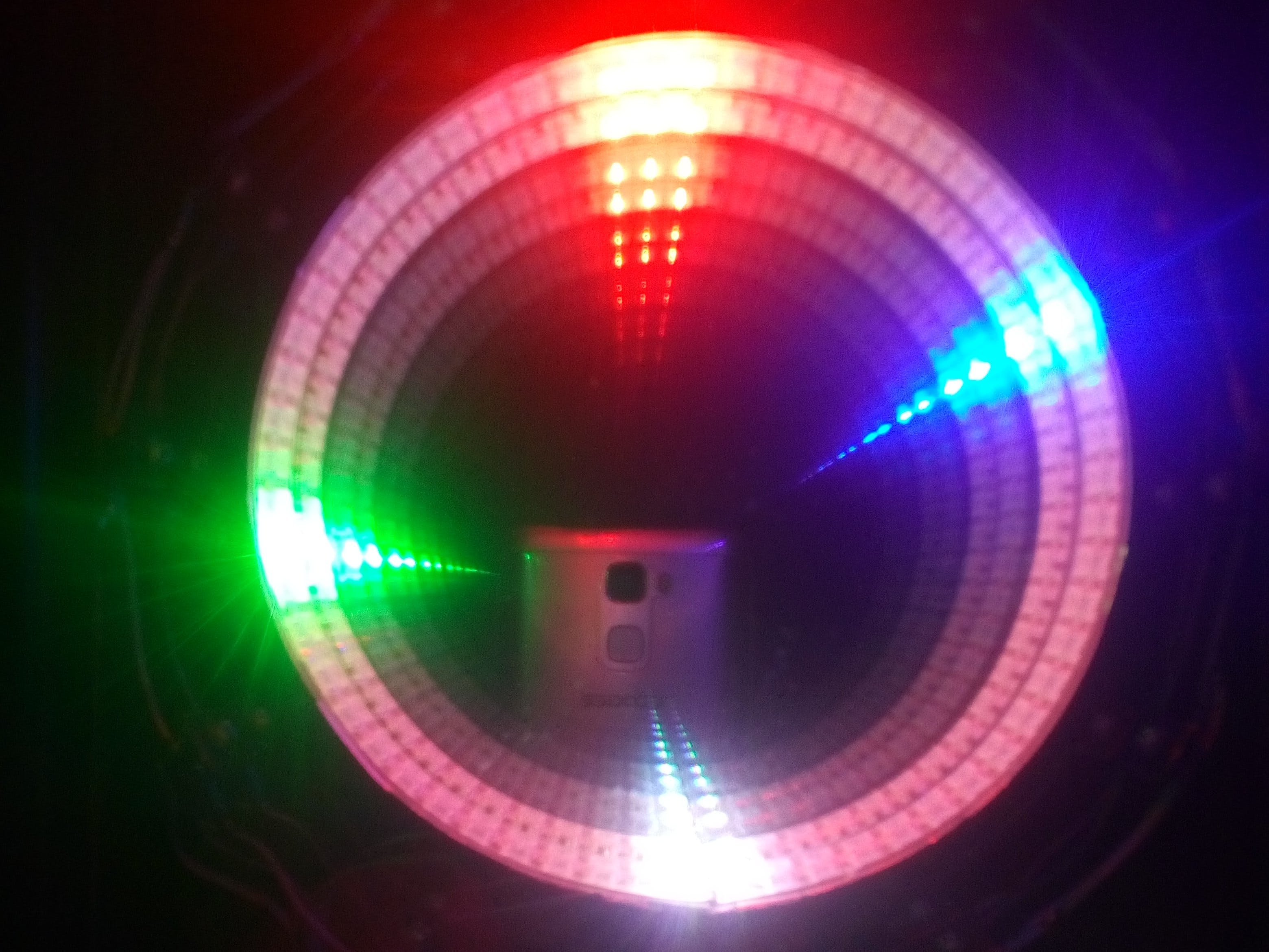 Arduino Infinity Mirror LED Clock