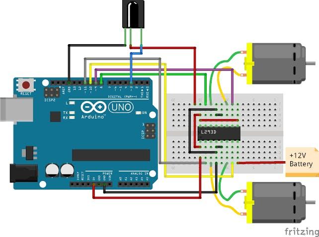 Robot schematic Diagram
