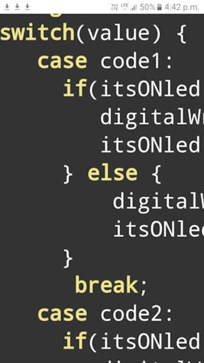 switch case syntax