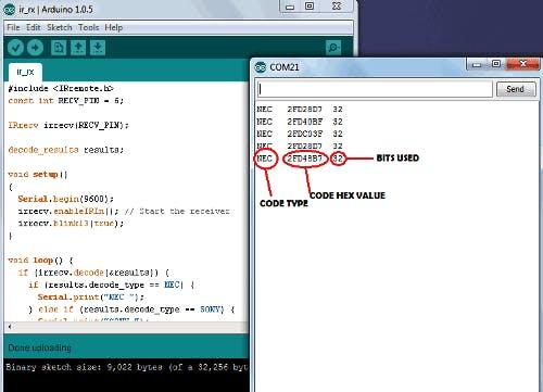 Serial Monitor Decoding