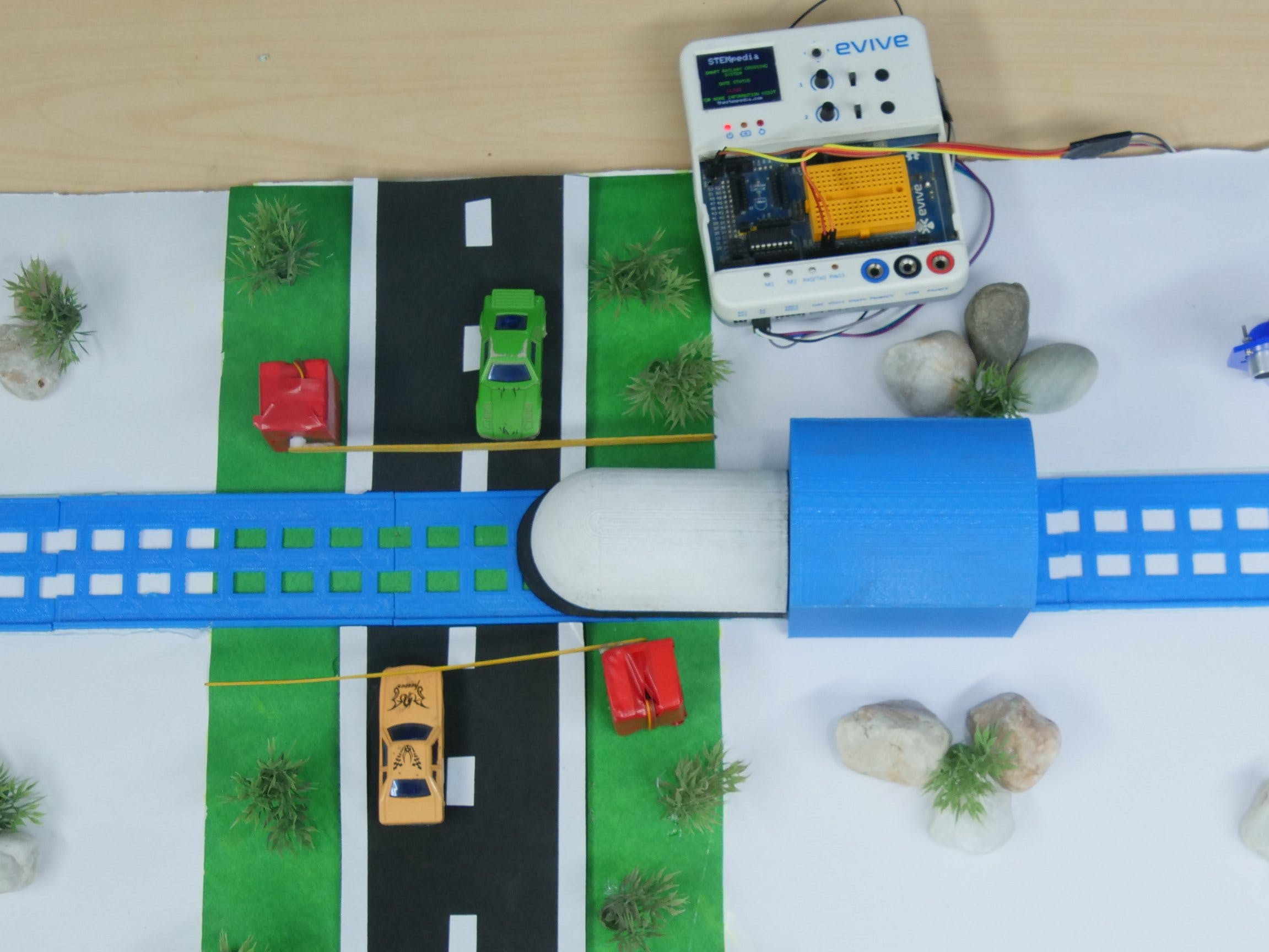 Automatic Railway Crossing System Using Arduino Based Emb...