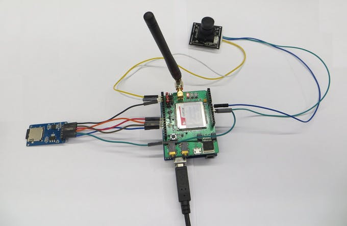 Figure 17. Connect 3G/GPRS shield.