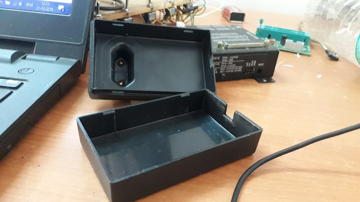 enclosure from an old AC/DC Adapter