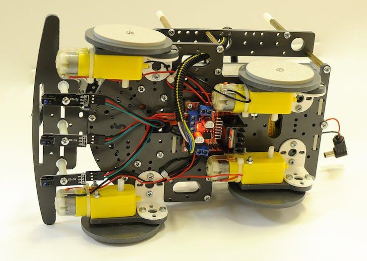 Arduino 4WD Car - Hackster io