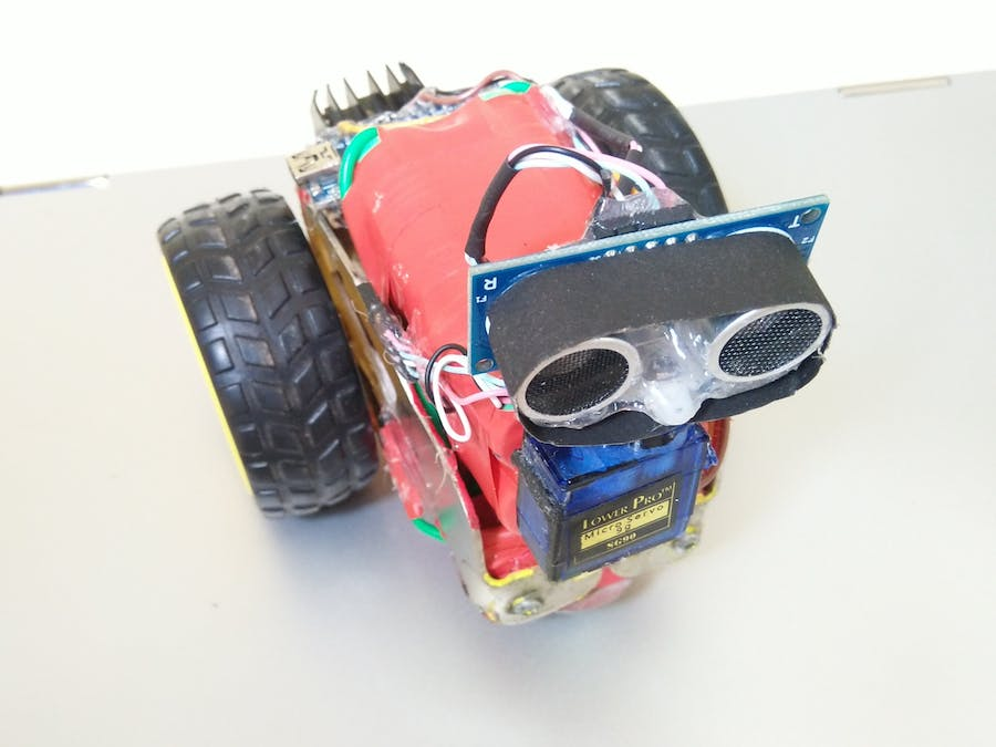 Obstacle Avoiding Robot- Compact