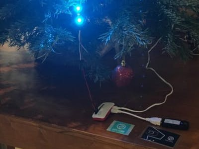 Remote Control Cloud-Enabled Christmas Tree Lights