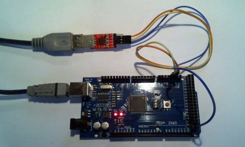 Serial connection TTL-USB