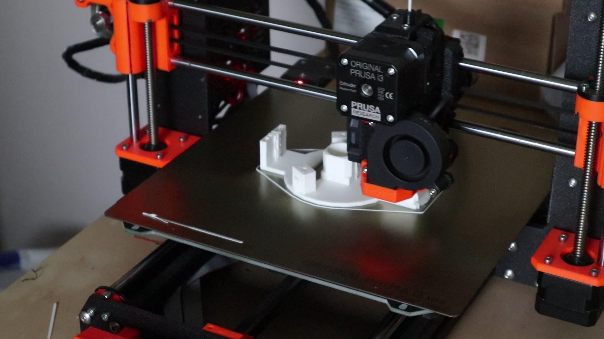Printing the gondola