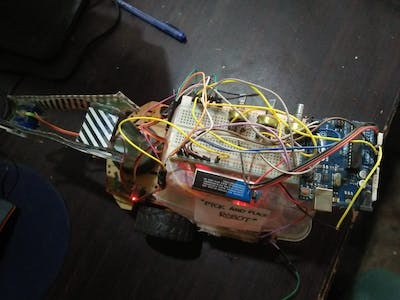 Smartphone Controlled Pick and Place Robot with Code