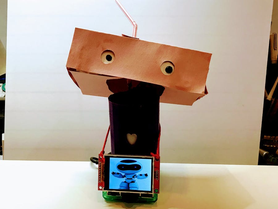 OhGee: A Friendly Robot Pal With Her Head in the Clouds