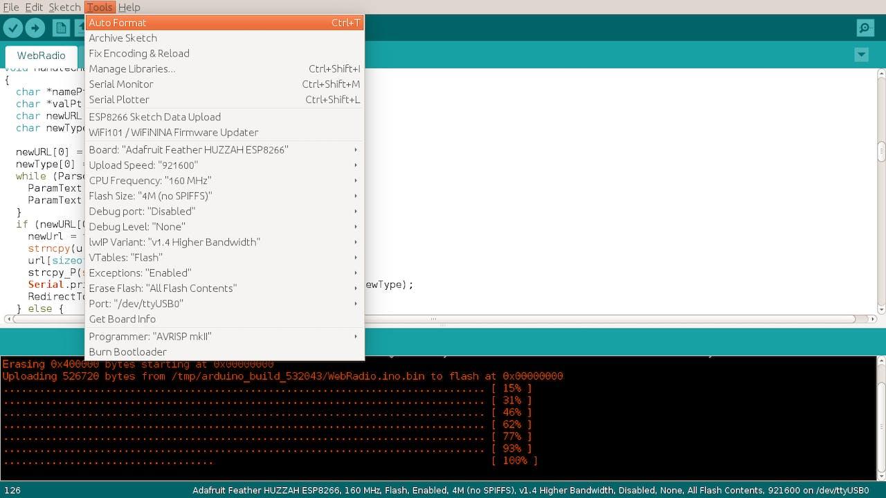 Talking Web Radio with ESP8266 and Sony Spresense - Hackster io
