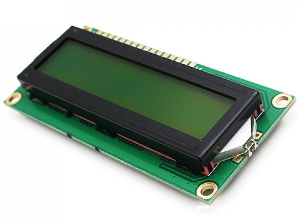 Temperature on an LCD