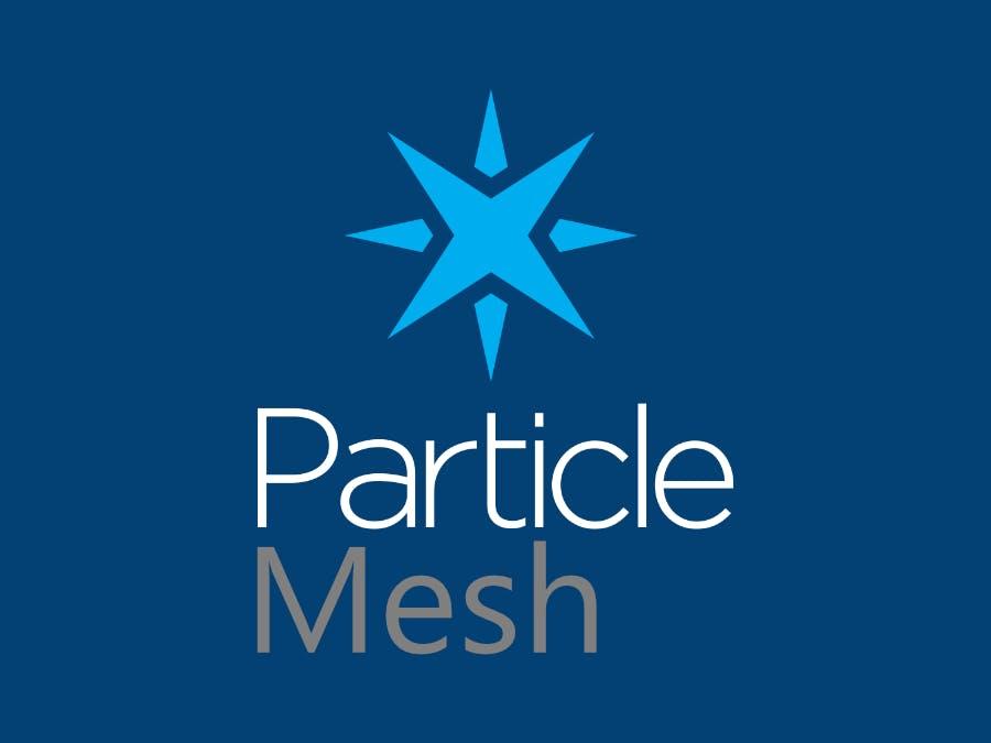 Particle Mesh - Argon - LED Blinker