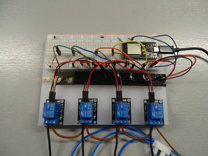 The practical breadboard realisation