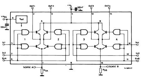 Full-bridge MOSFETs
