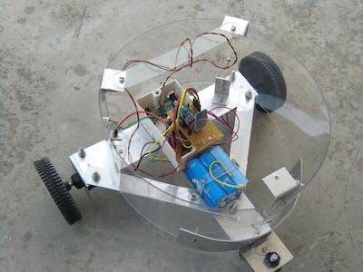 Simple HC05 robot