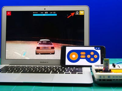 Smartphone Controlled PC Game Using Dabble App