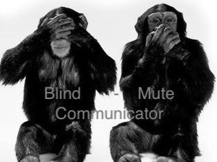 Blind-Mute Communicator