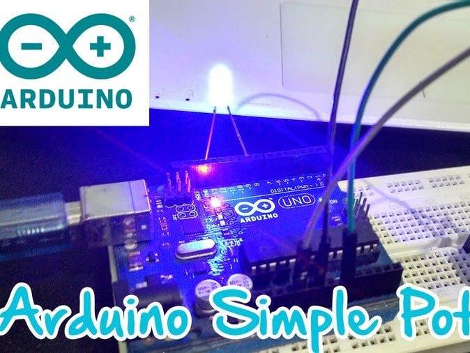 Arduino Simple Potentiometer