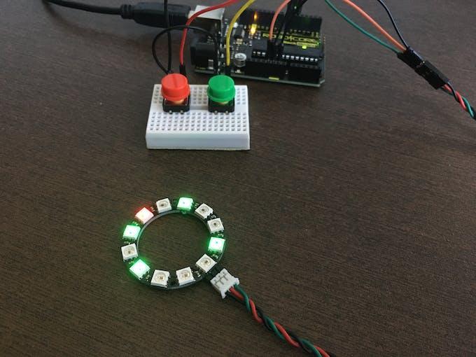 NeoPixel Ring: 12 x RGB LED