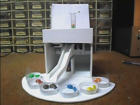Arduino M&M and Skittles Color Sorter