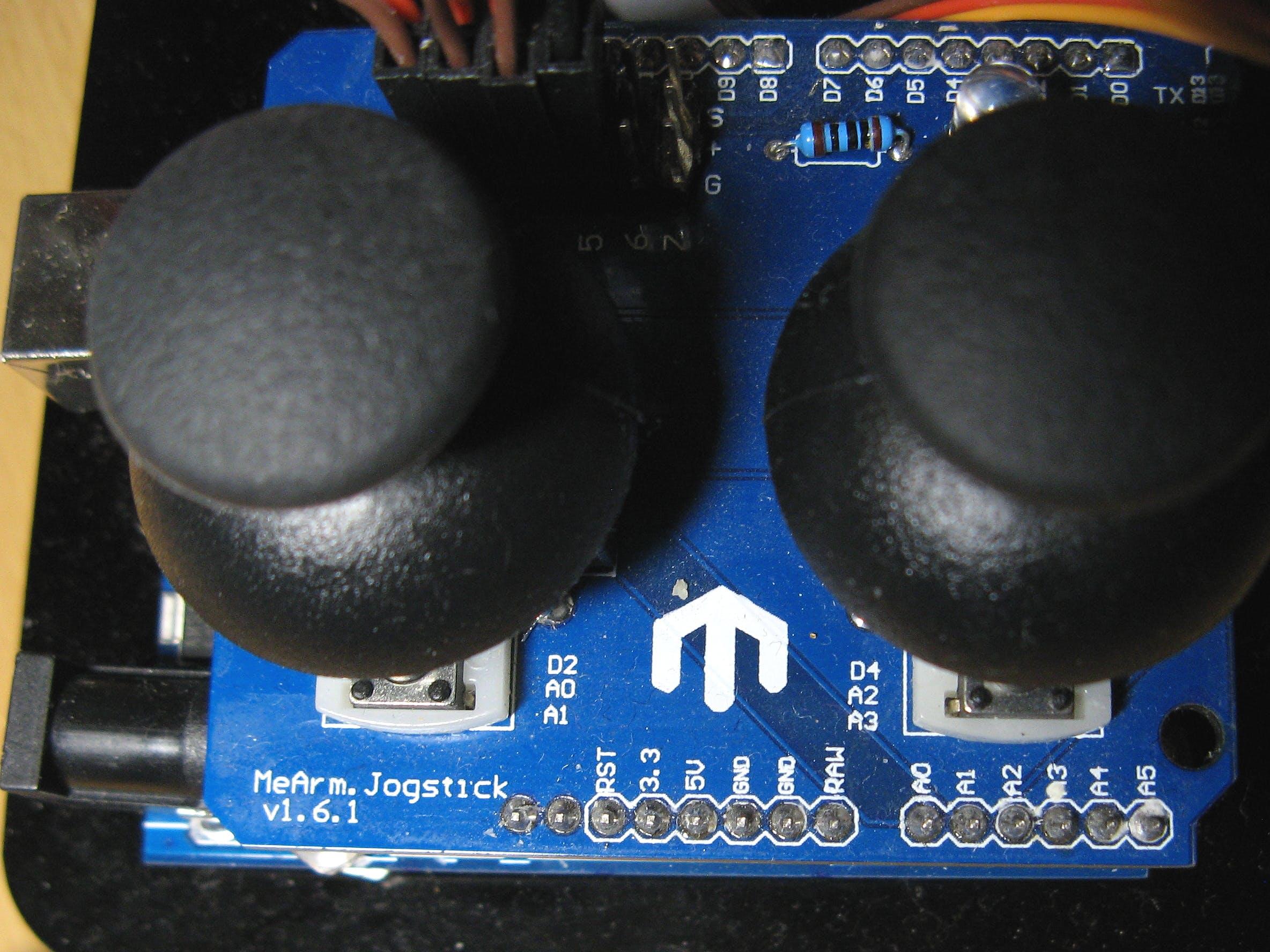 Joystick board MeArm v1.6.1
