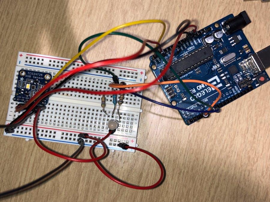RGB Sensor Arduino