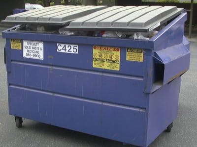 Smart Dumpster