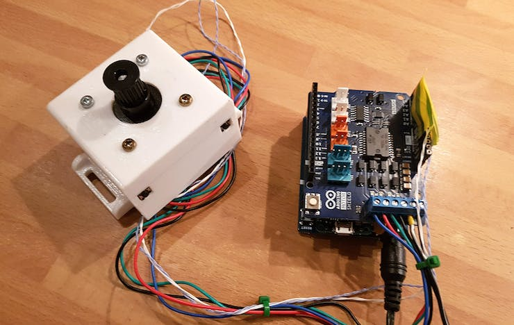 Arduino & Android Curtain Control - Hackster io
