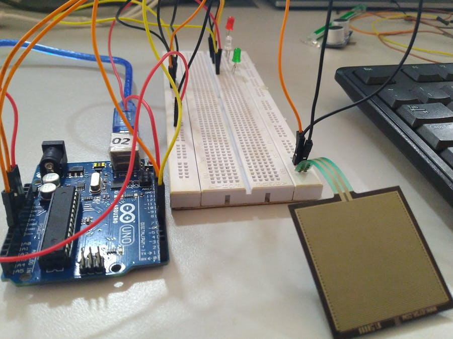 Pressure Pad Interfacing with Arduino - Arduino Project Hub