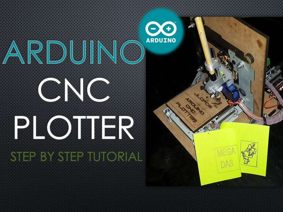 Arduino CNC Plotter (Drawing Machine)