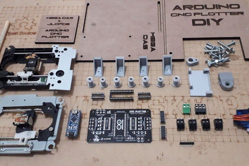 XY Plotter Mechanical CNC Arduino Arduino cnc t