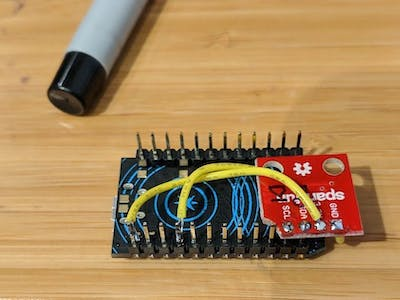 Particle.io Humidity/Temperature to Adafruit/IFTTT