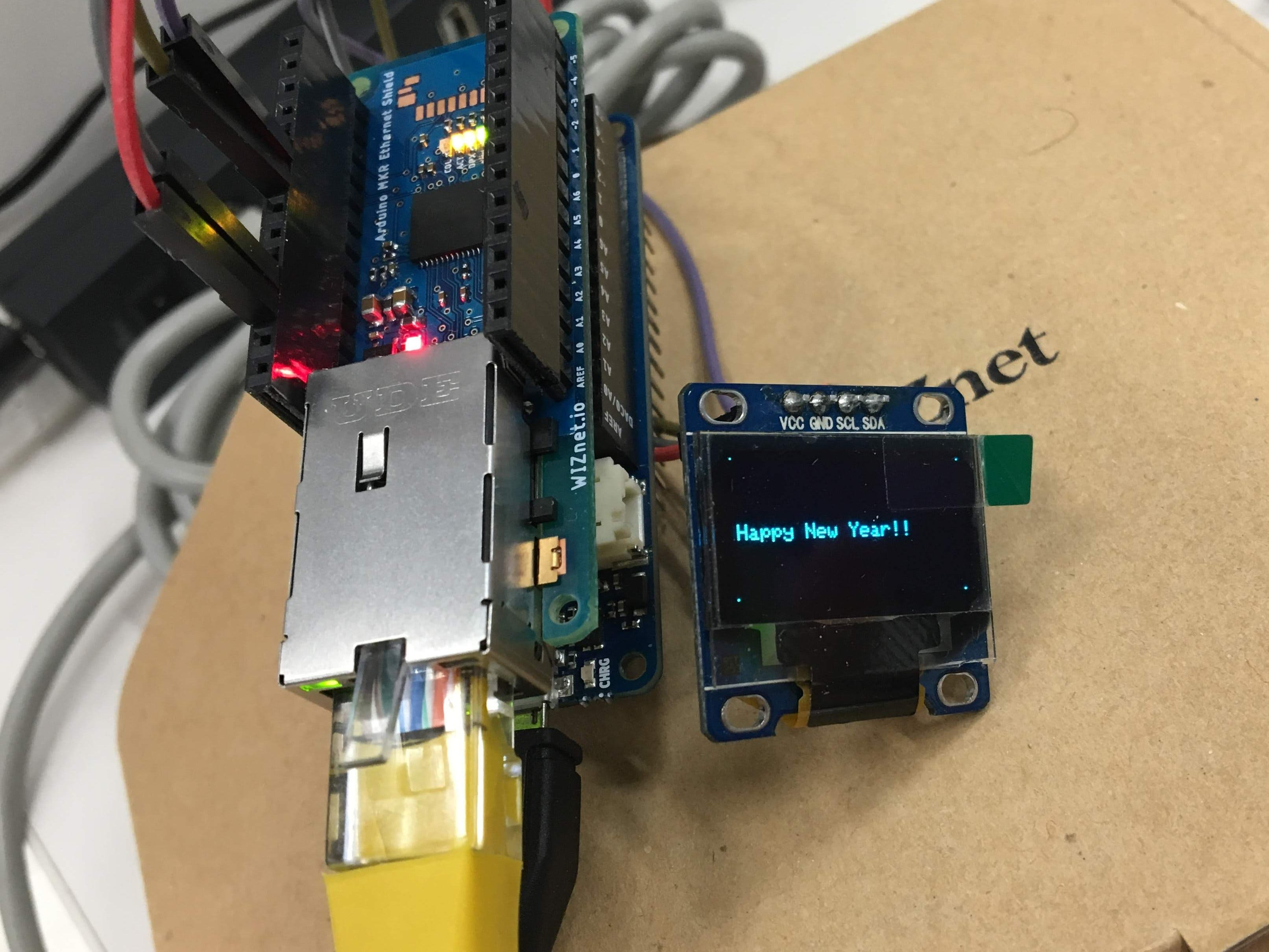 Simple Remote Display with Mobile App
