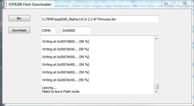 Flash Firmware on ESP8266 (ESP-01) Module - Hackster io
