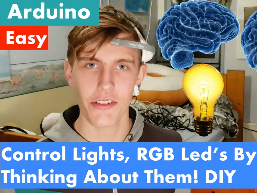 3 Amazing Brain/Mind Control Projects with LED Strips