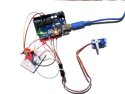 Clap Sensing Servo Control