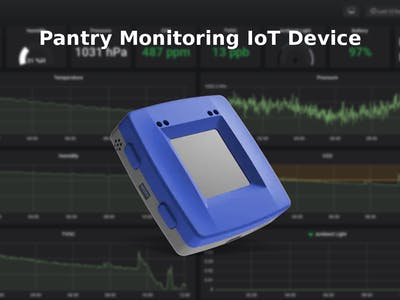 Pantry Monitoring IoT Device
