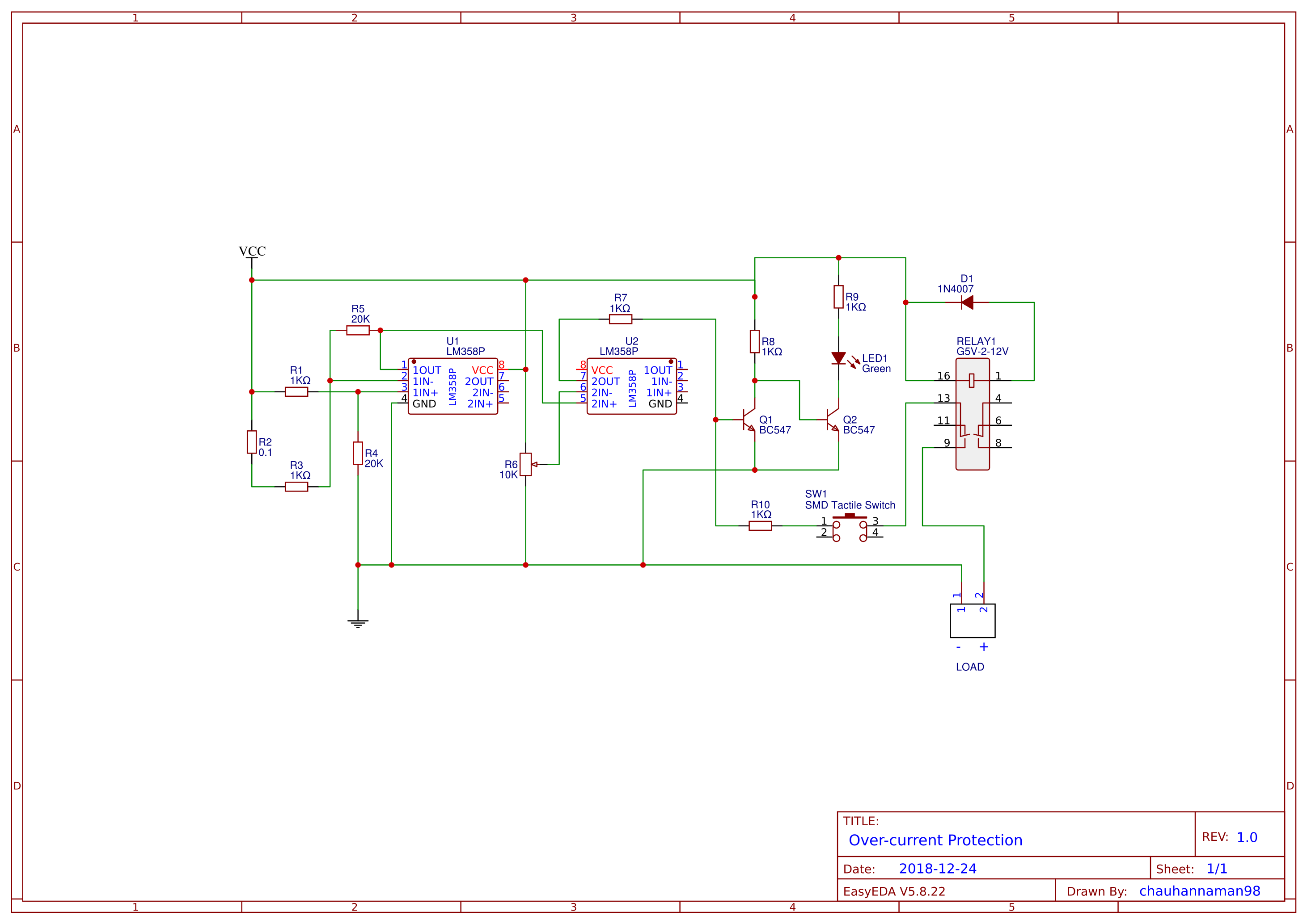 Circuit For Electricity To Flow And No Short Circuit The Led Will
